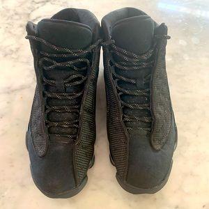 AIR JORDAN Retro 13 - Black Cat Basketball Shoes